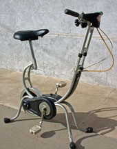 [Carnielli Cyclette Stationary Bicycle]