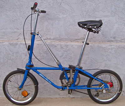 [Dahon Stowaway Folding Bike]