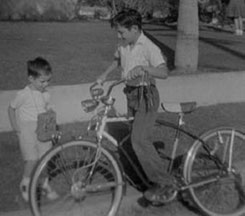 [Brother's Schwinn Bike for Paper Route]