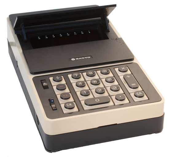 [Sanyo Mini Electronic Calculator ICC-0081]