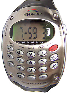 [Sharp Calculator Watch]