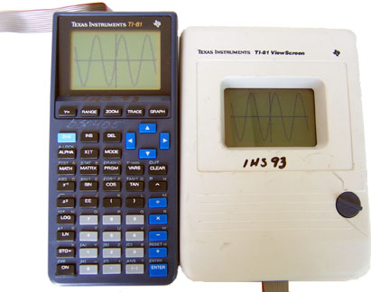 [TI 81 Graphing Calculator]