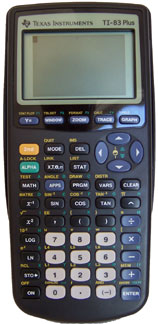 [TI 83 Plus Graphing Calculator]