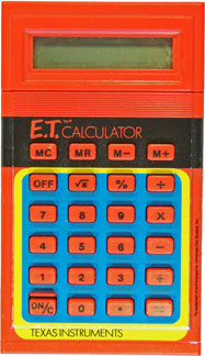 [TI E.T. Calculator]
