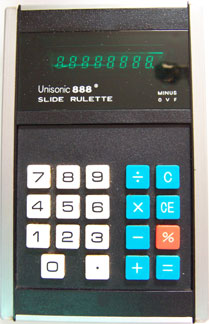 [Unisonic 888 Slide Rulette]