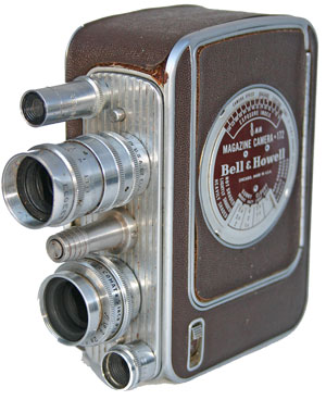 [Bell & Howell 8mm Magazine Camera 172]