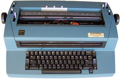 [IBM Correcting Selectric III]